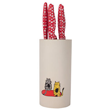 Picture of  BiggDesign Knife Set - Cats